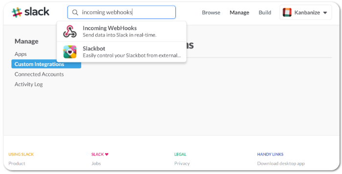 Integrate Kanbanize with Slack in 3 Minutes – Kanbanize Knowledge Base